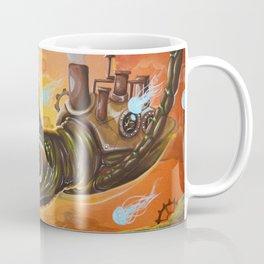 flying  steampunk turtle Coffee Mug