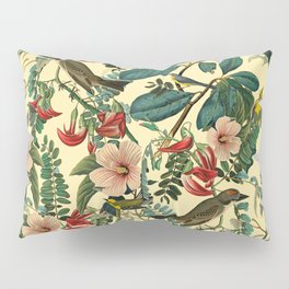 FLORAL AND BIRDS VII Pillow Sham