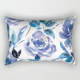 174cc7c575ff Royal Blue Garden 01 Rectangular Pillow