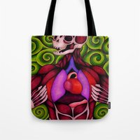 anatomy Tote Bags featuring Anatomy by Art By Emmy Kay