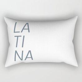 LA TI NA Rectangular Pillow