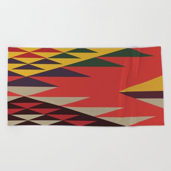 American Native Pattern No. 51 Beach Towel
