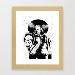 We've Come For Your Daughter, Chuck Framed Art Print