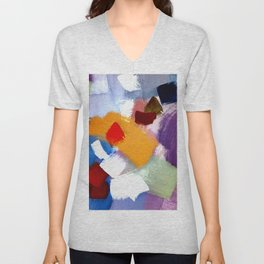 in the countryside Unisex V-Neck