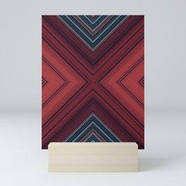 Red Floor Mini Art Print
