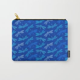 Dragonfly Summer Blues Carry-All Pouch