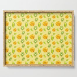 Tropical, fresh and citric fruits Serving Tray