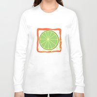 lime Long Sleeve T-shirts featuring LIME by Tanya Pligina