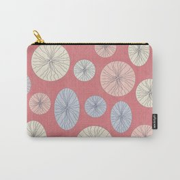 Circle Ovals and Lines Carry-All Pouch