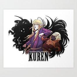 Kuren Logo Art Print