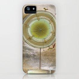 Metallic Tree iPhone Case