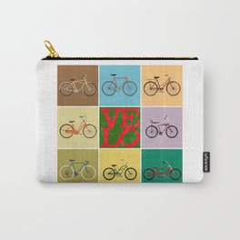 Velo Love – 8 Bikes - June 12th – 200th Birthday of the Bicycle Carry-All Pouch