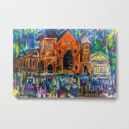 Brooklyn arts center wilmington nc Metal Print