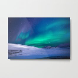 Northern Lights (Aurora Borealis) 15. Metal Print
