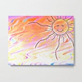 sunny Dayz Metal Print