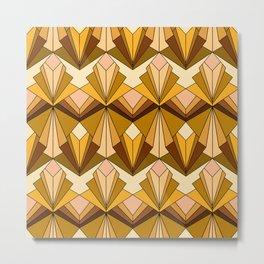Art Deco meets the 70s Metal Print