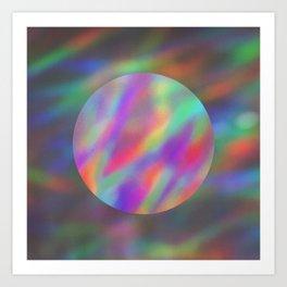 abalone light Art Print