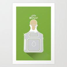 In My Fridge - Tequila Art Print
