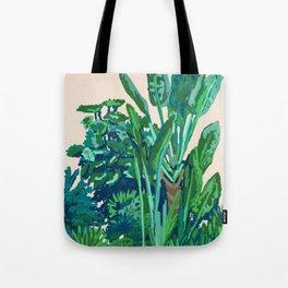 Green House Garden  Tote Bag
