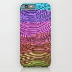Metallic Colors Brush Strokes Slim Case iPhone 6s
