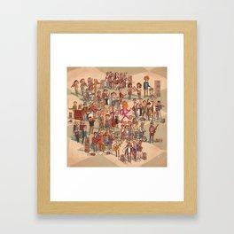 Icelandic Indie Music Framed Art Print