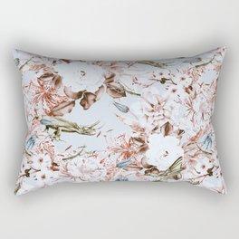 Wild botanical garden I Rectangular Pillow