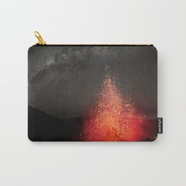 Kilauea Volcano Eruption .3 Carry-All Pouch
