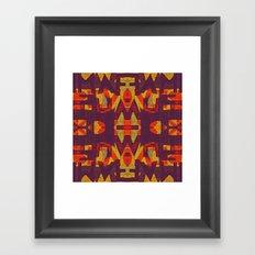 DYSLEXIE Framed Art Print