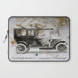 1910 Buick Limousine Laptop Sleeve