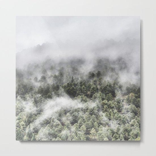 """""""Mountain light III"""". Wildderness. Mountains Metal Print"""
