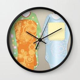 Geisha Maiko Spring Wall Clock