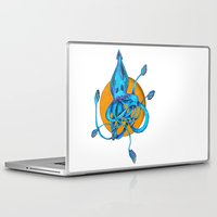 squid Laptop & iPad Skins featuring Squid by Ruth Wels