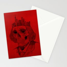 untouchable city Stationery Cards