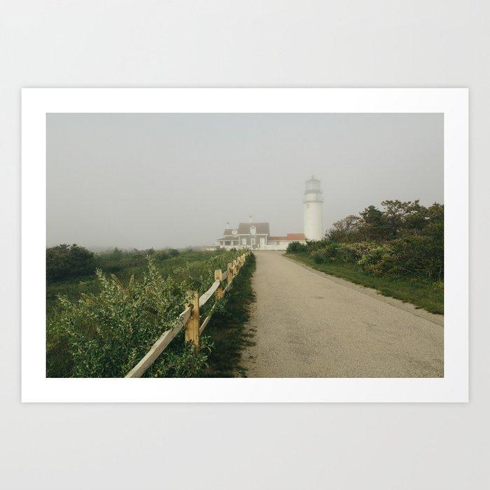Cape Cod Lighthouse Art Print