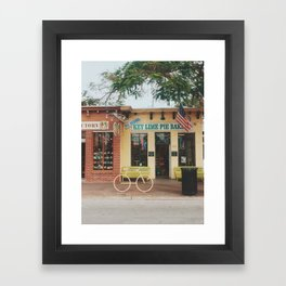 The Original Key Lime Pie Bakery Framed Art Print
