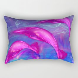 Dolphin Fantasy 2 Rectangular Pillow