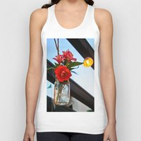 outdoor Tank Tops featuring Outdoor Decor by Kim Ramage