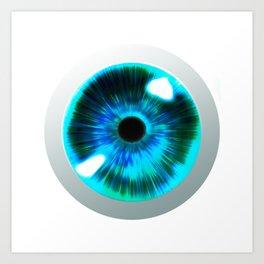 Fantastic Eye Art Print
