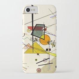 Wassily Kandinsky - Melodisch iPhone Case