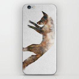 Jumping Fox iPhone Skin