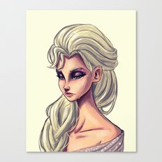 Queen Elsa Canvas Print