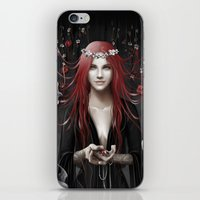 passion iPhone & iPod Skins featuring Passion by Nicolas Jamonneau