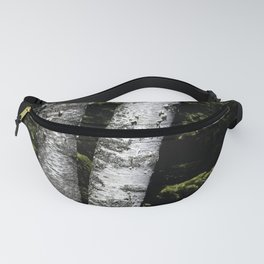 Birches Nestled in Pines Fanny Pack