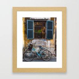 Hoi An - The Yellow City Framed Art Print