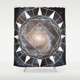 Time Machine Shower Curtain