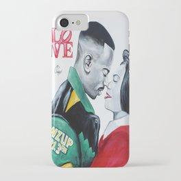 Black Love - Martin & Gina iPhone Case
