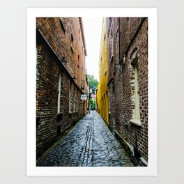 Alley to the Past Art Print