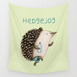 Hedgejog Wall Tapestry