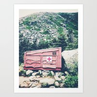 This Ain't No Place For the Weary Kind Art Print
