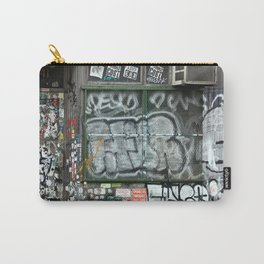 On Bleecker street, East Village | NYC Carry-All Pouch